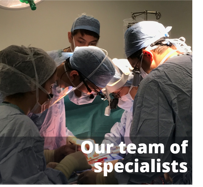 Our Team of Specialists